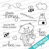 Winston's Honeybees Stamp Set ©2016 Newton's Nook Designs