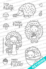 Hedgehog Hollow Stamp Set ©2016 Newton's Nook Designs