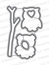 What a Hoot Die Set ©2016 Newton's Nook Designs