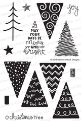 Festive Forest Stamp Set ©2016 Newton's Nook Designs