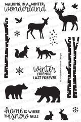 Serene Silhouettes Stamp Set ©2016 Newton's Nook Designs