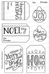 Joyful Tags Stamp Set ©2016 Newton's Nook Designs