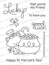 Newton's Pot of Gold Stamp Set ©2017 Newton's Nook Designs