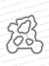 Newton Scoots By Die Set ©2017 Newton's Nook Designs