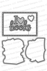 Newton's Book Club Die Set ©2017 Newton's Nook Designs