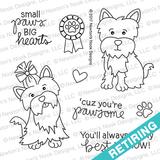 Terrific Terriers Stamp Set ©2017 Newton's Nook Designs