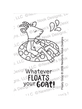 Floaty Goat Stamp Set ©2018 Newton's Nook Designs