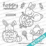 Hoppy Halloween Stamp Set ©2018 Newton's Nook Designs