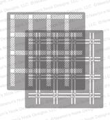 Plaid Stencil Set ©2018 Newton's Nook Designs
