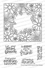 Floral Fringe Stamp Set ©2019 Newton's Nook Designs