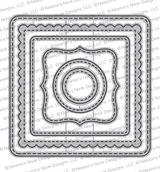 Frames Squared Die Set ©2019 Newton's Nook Designs