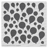 Balloons Stencil ©2019 Newton's Nook Designs
