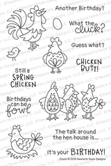 Cluck Stamp Set ©2019 Newton's Nook Designs