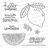 Lemon Twist Stamp Set ©2019 Newton's Nook Designs
