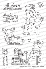Festive Fawns Stamp Set ©2019 Newton's Nook Designs