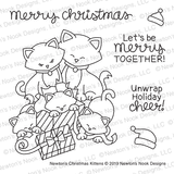 Newton's Christmas Kittens Stamp Set ©2019 Newton's Nook Designs