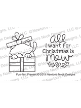 Purr-fect Present Stamp Set ©2019 Newton's Nook Designs