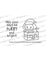 Puppy Present Stamp Set ©2019 Newton's Nook Designs