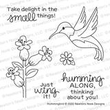 Hummingbird Stamp Set ©2020 Newton's Nook Designs