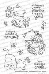 Newton's Flower Garden Stamp Set ©2020 Newton's Nook Designs