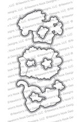 Newton's Flower Garden Die Set ©2020 Newton's Nook Designs