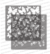Butterflies Stencil Set ©2020 Newton's Nook Designs