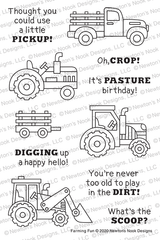 Farming Fun Stamp Set ©2020 Newton's Nook Designs
