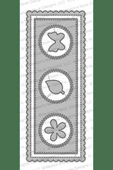 Slimline Frames & Portholes Die Set ©2020 Newton's Nook Designs
