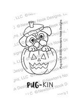 Pug-kin Stamp Set ©2020 Newton's Nook Designs