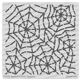 Spiderweb Stencil ©2020 Newton's Nook Designs