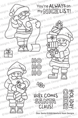 Dear Santa Stamp Set ©2020 Newton's Nook Designs
