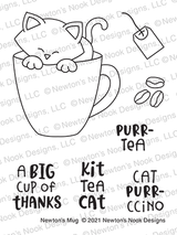 Newton's Mug Stamp Set ©2021 Newton's Nook Designs