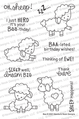 Baa Stamp Set ©2021 Newton's Nook Designs