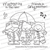 Newton's Rainy Day Trio Stamp Set ©2021 Newton's Nook Designs