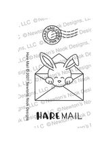 Hare Mail Stamp Set ©2021 Newton's Nook Designs