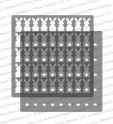 Bunny Tails Stencil Set ©2021 Newton's Nook Designs