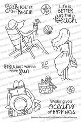Summer Moments Stamp Set ©2021 Newton's Nook Designs