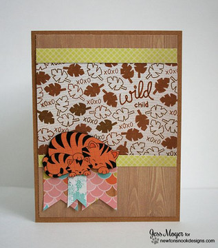 Wild Child stamp set ©2014 Newton's Nook Designs