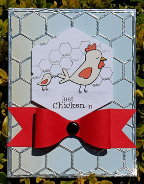 Chicken Scratches | 3x4 photopolymer Stamp Set | ©2014 Newton's Nook Designs
