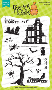 Spooky Street Stamp Set ©2014 Newton's Nook Designs