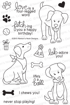 Fetching Friendship Stamp Set | © 2015 Newton's Nook Designs