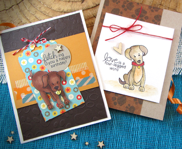 Fetching Friendship Stamp Set | © 2015 Newton's Nook Designs