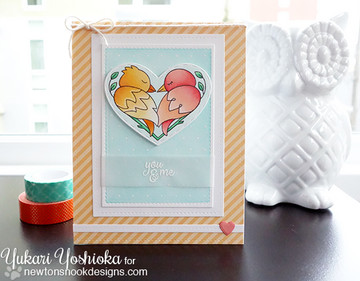 Darling Duos | 4x6 Photopolymer Stamp Set | ©2016 Newton's Nook Designs