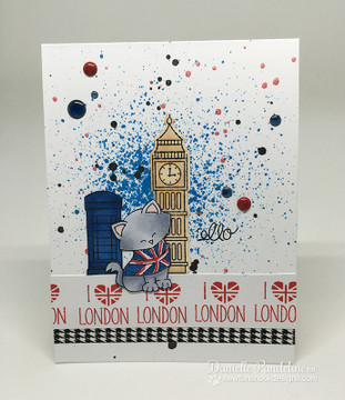 Newton Dreams of London Stamp set ©2016 Newton's Nook Designs