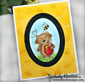 Winston's Honeybees Stamp Set ©2016 Newton's Nook Designs