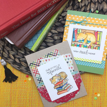 Newton's Book Club Stamp Set ©2016 Newton's Nook Designs