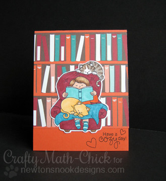A Cozy Day In Stamp Set ©2016 Newton's Nook Designs