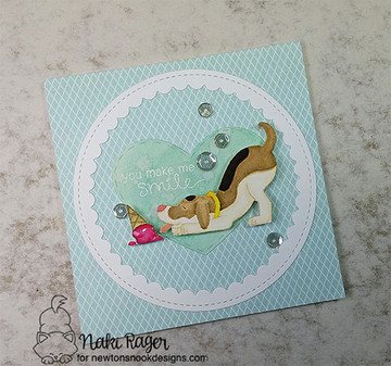 Dog Days of Summer Stamp Set ©2016 Newton's Nook Designs
