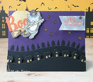 Newton's Boo-tiful Night Stamp Set ©2016 Newton's Nook Designs