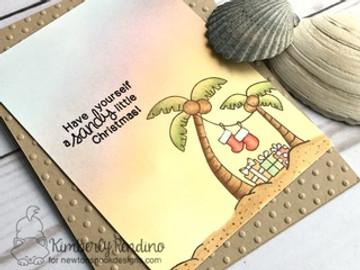 Sun Soaked Christmas Stamp Set ©2016 Newton's Nook Designs